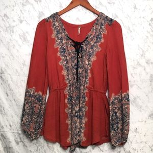 Free People Boho Tunic Size XS
